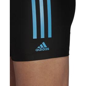 adidas Fit Semi3S Boxershorts Herren black/shock cyan